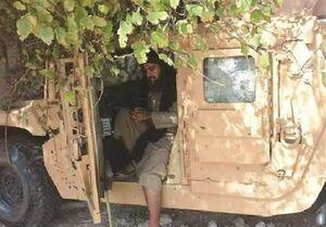 ابوبکر البغدادی در زره پوش آمریکایی! +عکس
