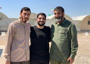 مداحان معروف و حسین یکتا در سرزمین شهدا +عکس