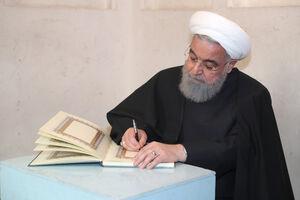 عکس/ حضور در روحانی در بیت تاریخی امام خمینی(ره)