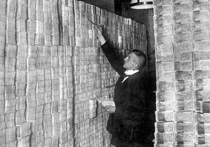 تورم یک میلیون درصدی آلمان چگونه مهار شد؟ +عکس