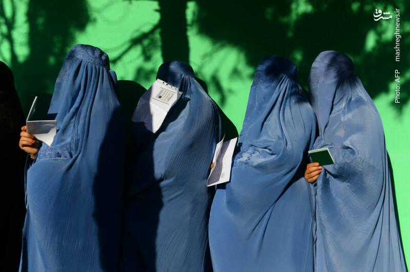صف رأی در هرات افغانستان