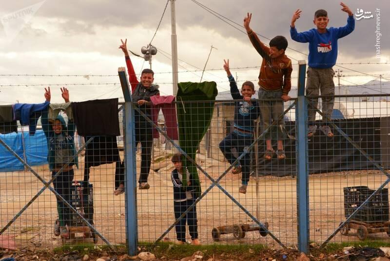 اردوگاه آوارگان در سلیمانیه عراق