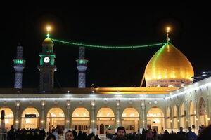 عکس/ محل ضربت خوردن حضرت علی(ع)
