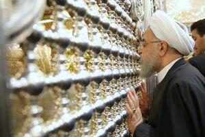 روحانی در  مسجد کوفه