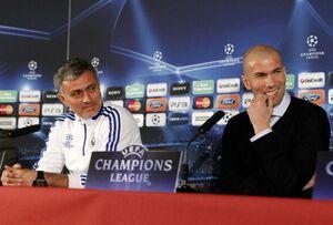 واکنش مورینیو به بازگشت زیدان در رئال مادرید