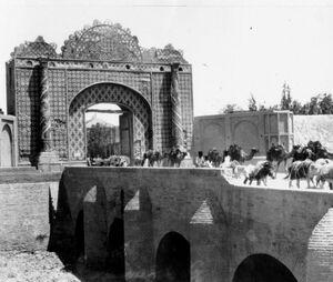 عکس/ دروازه دولت در زمان قاجار