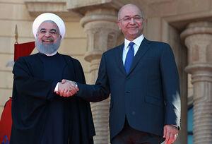 بازتاب بینالمللی سفر روحانی به عراق/ مقایسه سفر «چراغخاموش» ترامپ با استقبال رسمی از رئیسجمهور ایران/ عصبانیت برایان هوک: ایرانیها میخواهند عراق یکی از استانهایشان باشد+ عکس و فیلم