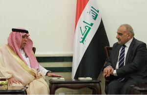 سفر وزیر سعودی به عراق