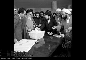 عکس/ صف رای در نخستین دوره انتخابات مجلس