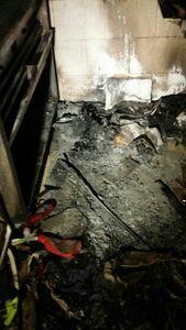 عکس/ آتشسوزی در مجتمع کامپیوتر پایتخت