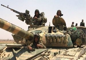 پاسخ محکم ارتش سوریه به تروریستهای ادلب