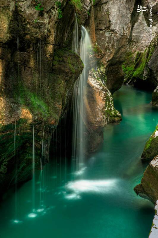 رود «سوچا» در اسلوونی