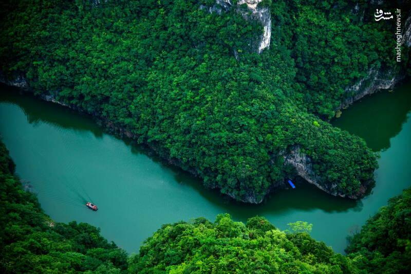 رودخانه یانگ تسه در چین