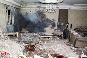 عکس/ اولین قربانی چهارشنبهسوری (۱۵+)
