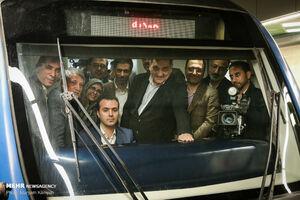 عکس/ افتتاح سه ایستگاه جدید مترو تهران