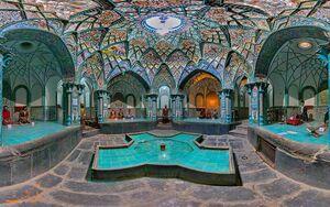 نمای زیبایی از موزه چهارفصل اراک