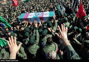 عکس/ مراسم تشییع شهید حسین جوینده