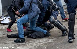 فیلم/ وحشیگری پلیس فرانسه