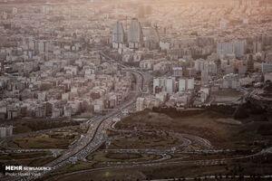 عکس/ ترافیک تهران در آخرین روزهای سال