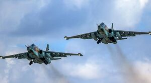 جنگندههای «سوخو-۲۵» روسیه به سوریه بازگشتند