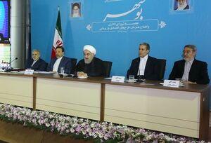 روحانی: تعجب میکنم که چطور آمریکا توانست در برخی ذهنها رخنه کند/ دستگاه قضایی سران آمریکا و طراحان تحریم را به خاطر جنایت علیه بشریت، در داخل و خارج تحت پیگیرد قرار دهد