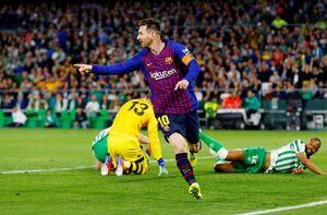 فیلم/ خلاصه دیدار رئال بتیس 1-4 بارسلونا