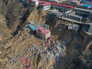 رانش مرگبار زمین در چین