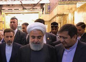 عکس/ زیارت رئیس بانک مرکزی در کاظمین