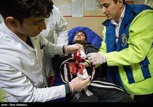 عکس/ عاقبت رفتارهای افراطی در چهارشنبه سوری۱۳+