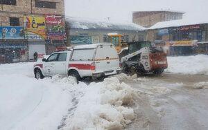 ارتفاع برف در مازندران به یکونیم متر رسید