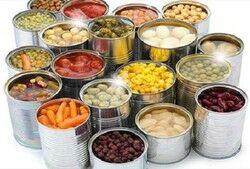مضرات غذاهای کنسرو شده بر سیستم گوارش