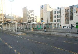 اخلال در عملیات اتوبوسرانی شهری تهران