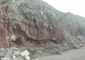 مرگ یک فوتبالیست براثر سقوط سنگ در جاده فیروزکوه