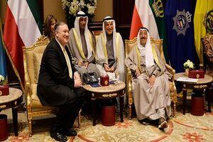 پمپئو و امیر قطر