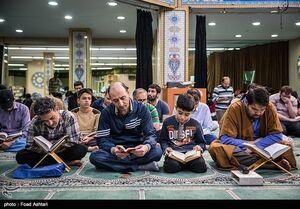 عکس/ مراسم معنوی اعتکاف در دانشگاه امیرکبیر
