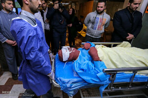 ۱۷۴ نفر بستری و دو فوتی در چهارشنبه سوری