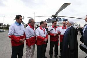 بازدید سرزده روحانی از ایستگاه سلامت اورژانس