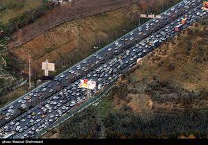 محورهای مواصلاتی ۱۱ استان زیر بار ترافیک