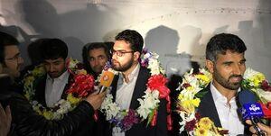 بازگشت 4 مرزبان ربوده شده به کشور