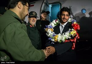 فیلم/ بازگشت ۴ مرزبان ربودهشده به وطن