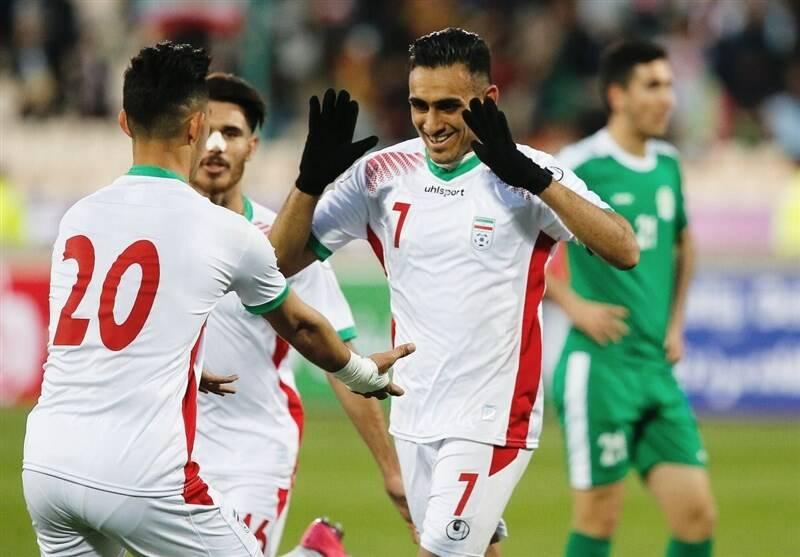 پیروزی تیم ملی امید برابر ترکمنستان/ شاگردان کرانچار گام اول را محکم برداشتند +فیلم