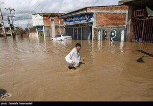 امداد رسانی به مناطق سیل زده استان گلستان