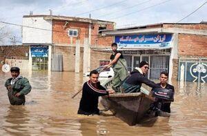درخواست کامبیز دیرباز درباره کمک به سیل زدگان +عکس