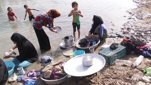 در طول سفر ظرفهایتان را با آب نهر نشویید