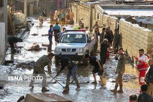 امدادرسانی به سیل زدگان استان گلستان