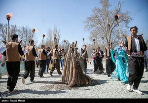 عکس/ جشن نوروز در طاقبستان
