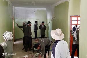 عکس/ اردوی جهادی طلبههای خارجی