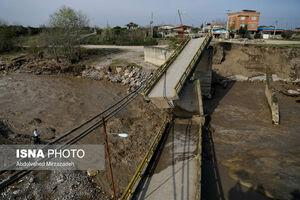 خسارت ۱۰۰۰ میلیاردی به جاده های استان گلستان