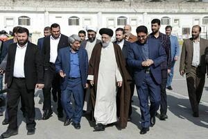 بازدید رئیسی از زندان مرکزی مشهد +تصاویر