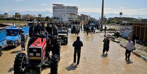 نیروهای جهادی همچنان در حال کمک به سیلزدگان +عکس